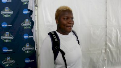 Shadae Lawrence won the discus for her sister
