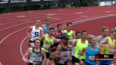 Men's 1500m, Heat 1 - Jenkins over a loaded field