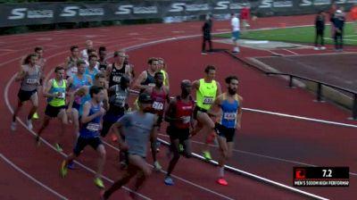 Men's 5k, Heat 1 - Erassa and McDonald battle to the line