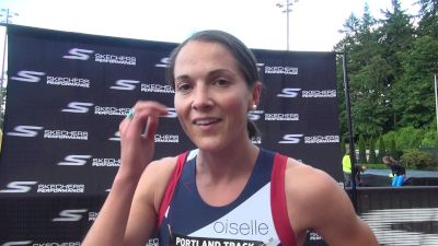 Mel Lawrence beat her coach's prediction in 1500m win