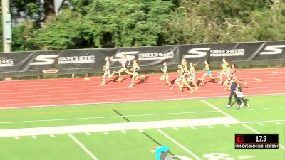 Pro Women's 800m, Heat 1