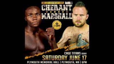 Ron Marshall vs. Fabio Cherant - Cage Titans 34 Replay