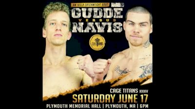 Trevor Gudde vs Marty Navis- Cage Titans 34 Replay