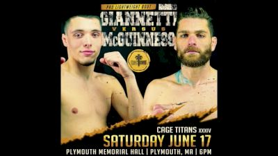 Vince McGuiness vs. Joe Giannetti - Cage Titans 34 Replay