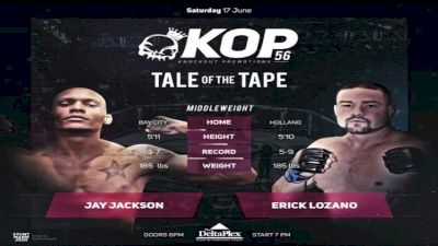 Jay Jackson vs. Erick Lozano - KOP 56 Replay