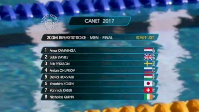 Canet Men's 200m Breast Final