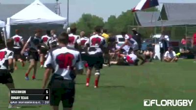 Wisconsin Flyhalf Tears Up Defense