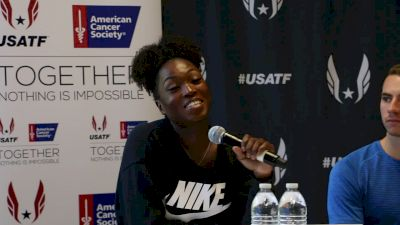 Tianna Bartoletta pumped to win Oslo Diamond League
