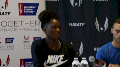 Tianna Bartoletta doesn't practice long jump much