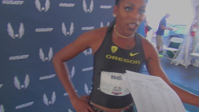 Raevyn Rogers says she has thought about going pro