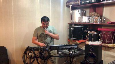 Garegin Araqelyan Live Looping in Armenia