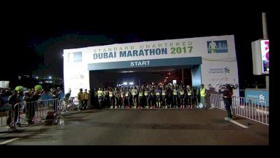 Worknesh Degefa Wins 2017 Dubai Marathon