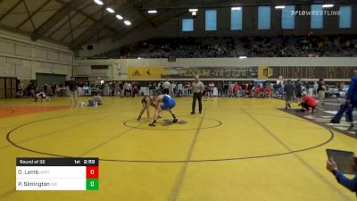 Match - Owen Lamb, Northern Colorado vs Parker Simington, Air Force