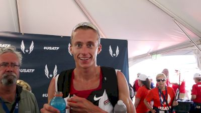 Evan Jager says American Distance Project is making everyone work harder for team spots