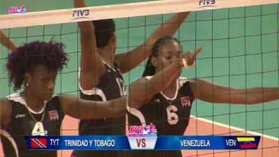 2017 NORCECA Pan-American Cup: Trinidad and Tobago vs Venezuela