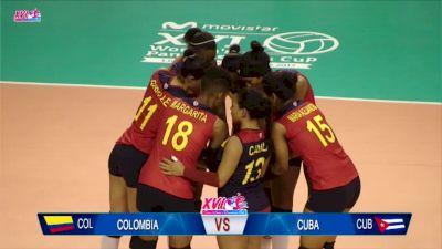 2017 NORCECA Pan-American Cup: Colombia vs. Cuba