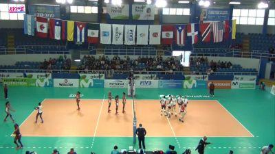 2017 NORCECA Pan-American Cup Fifth Place: Cuba vs. Canada
