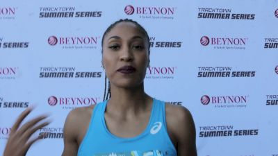 Queen Harrison came back with a vengeance to win TrackTown SF