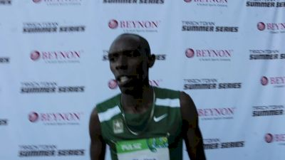 Paul Chelimo doesn't put focus on anyone else when it comes to winning gold at worlds