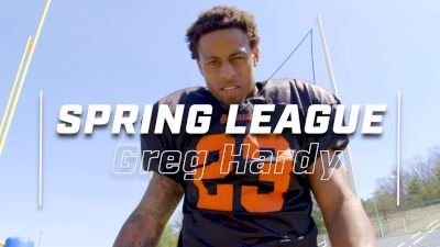 Greg Hardy Is Taking Full Advantage Of His Spring League Opportunity