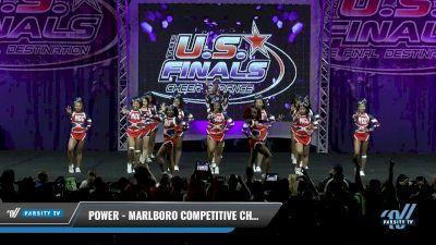 Marlboro Competitive Cheer - Power [2017 L3 - Performance Senior Rec Cheer Sm Day 1] The U.S. Finals - Virginia Beach