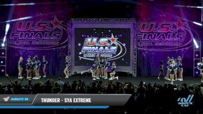 SYA Extreme - Thunder [2017 L3 - Performance Senior Rec Cheer Lg Day 1] The U.S. Finals - Virginia Beach