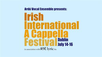 Irish A Capella Finals Annoucement