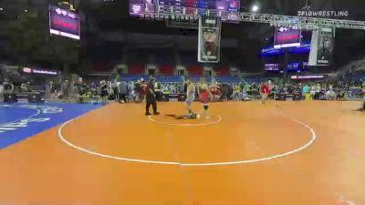 285 lbs Consi Of 8 #1 - Hayden Simpson, Oklahoma vs Brodie Stevens, Ohio