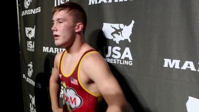 132 lbs Carson Manville, MN Fargo 2017 Cadet Greco-Roman Champion