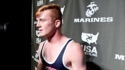 152 lbs McKay Foy, UT Fargo 2017 Cadet Greco-Roman Champion