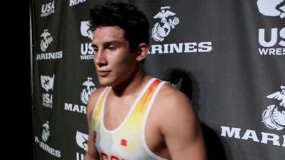 195 lbs Ashton Sharp, MO Fargo 2017 Cadet Greco-Roman Champion