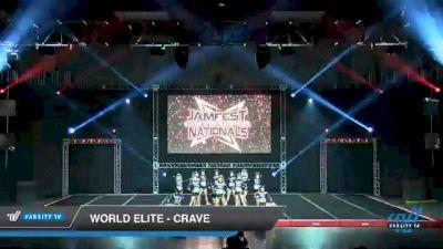 World Elite - Crave [2021 L6 Senior - XSmall Day 2] 2021 JAMfest Cheer Super Nationals
