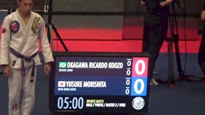 Okagawa Ricardo Koozo vs Yusuke Morishita 2017 Grand Slam Tokyo