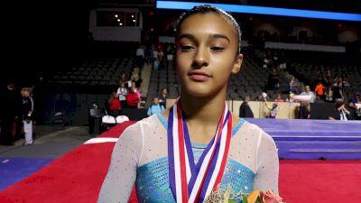 Luisa Blanco On Overcoming Injuries To Take 3rd AA & Transitioning To Elite - 2017 U.S. Classic