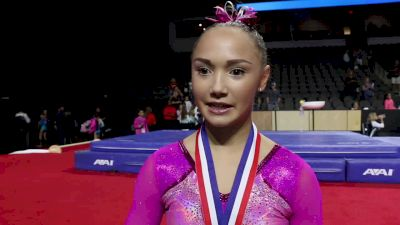 Kalyany Steele On Performance, The Senior Stage, And Coming Back From Injury - 2017 U.S. Classic