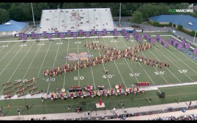 Time-lapse of The Cadets 2017 Show