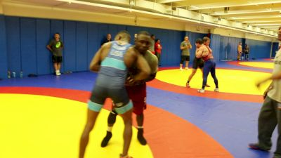 Ellis Coleman Wrestling Ryan Mango