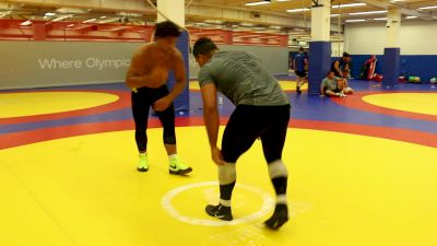 Gable Steveson Training With Brother Bobby