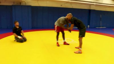 Who's Who At Men's Freestyle Practice