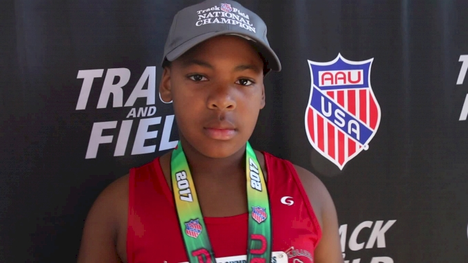Practice Makes Perfect For Demetrius Jenkins' Title in 10yo