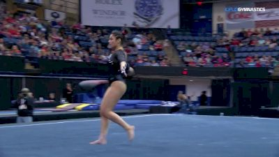Sabrina Vega - Floor, Georgia - 2018 Elevate the Stage - Augusta (NCAA)