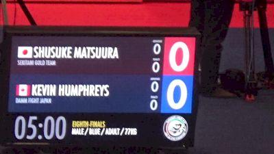 Shusuke Matsuura vs Kevin Humphreys 2017 Grand Slam Tokyo