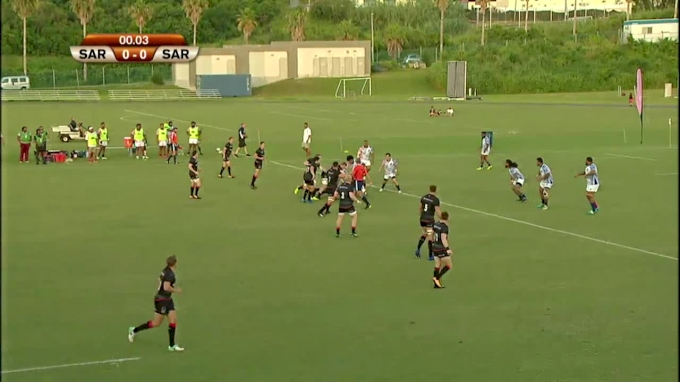 Full game of Saracens v USA Islanders