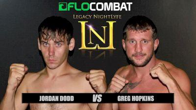 Greg Hopkins vs. Jordan Dodd VFW Fight Nights