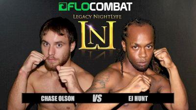 Chase Olson vs. EJ Hunt VFW Fight Nights