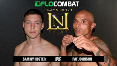Sammy Hester vs. Pat Johnson VFW Fight Nights