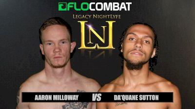 Da'Quane Sutton vs. Aaron Milloway VFW Fight Nights