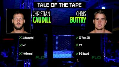 Chris Buttry vs Christian Caudhill VFW Fight Nights