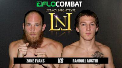 Randall Austin vs. Zane Evans VFW Fight Nights