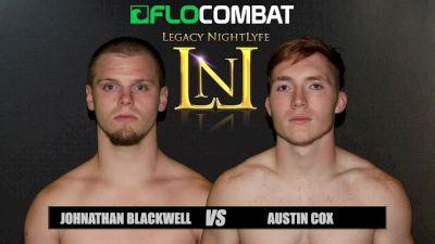 Austin Cox vs. Jonathan Blackwell VFW Fight Nights